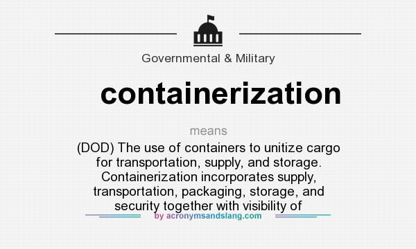 containerization Docker is an open platform for developers and sysadmins to build, ship, and run distributed applications, whether on laptops, data center vms, or the cloud.