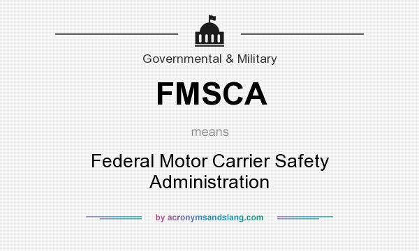 Definition of motor carrier for The federal motor carrier safety administration
