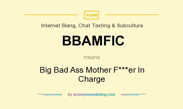 What does BBAMFIC mean? - Definition of BBAMFIC - BBAMFIC