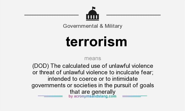 an explanation of terrorism Provide a definition of terrorism, but does criminalise public provocation to commit a terrorist offence and recruitment and training for terrorism the additional protocol to the convention was adopted by the committee.