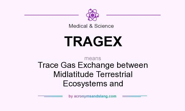 What does TRAGEX mean? It stands for Trace Gas Exchange between Midlatitude Terrestrial Ecosystems and