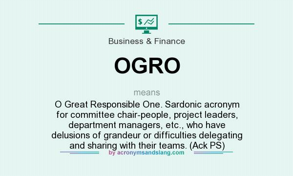 What does OGRO mean? - Definition of OGRO - OGRO stands for