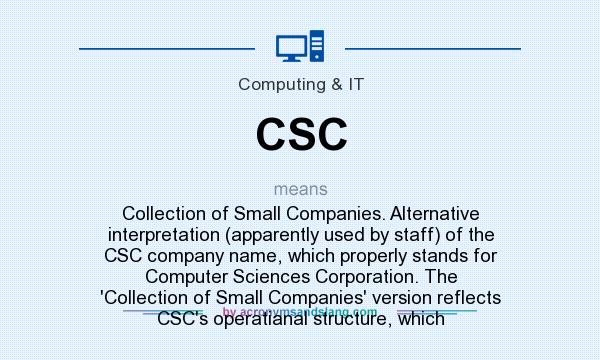 CSC - Collection of Small Companies  Alternative