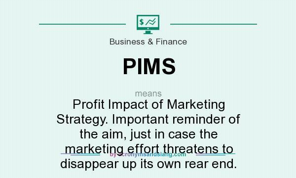 Profit impact of marketing strategy