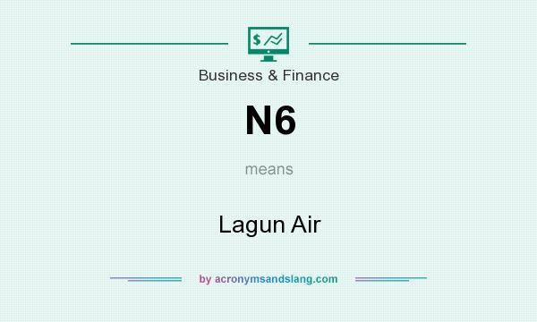 What does N6 mean? It stands for Lagun Air