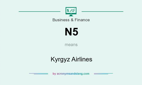 What does N5 mean? It stands for Kyrgyz Airlines