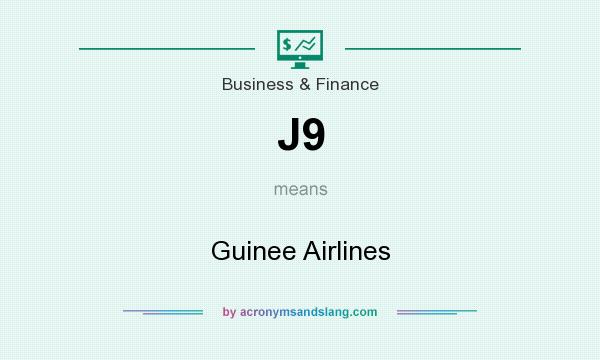 What does J9 mean? It stands for Guinee Airlines