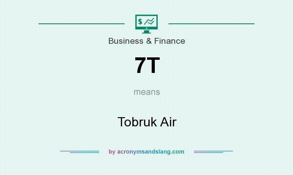 What does 7T mean? It stands for Tobruk Air