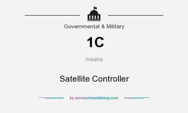 What does 1C mean? It stands for Satellite Controller
