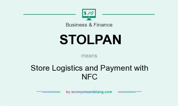 What does STOLPAN mean? It stands for Store Logistics and Payment with NFC