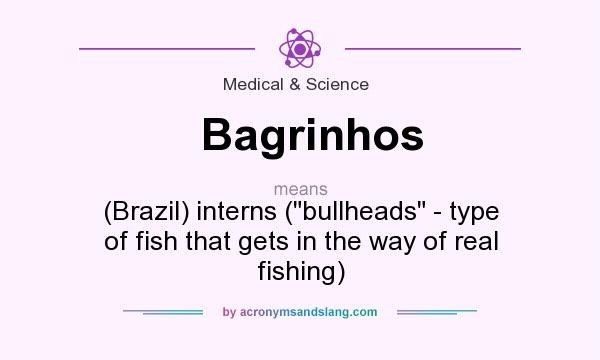 What does Bagrinhos mean? It stands for (Brazil) interns (bullheads - type of fish that gets in the way of real fishing)