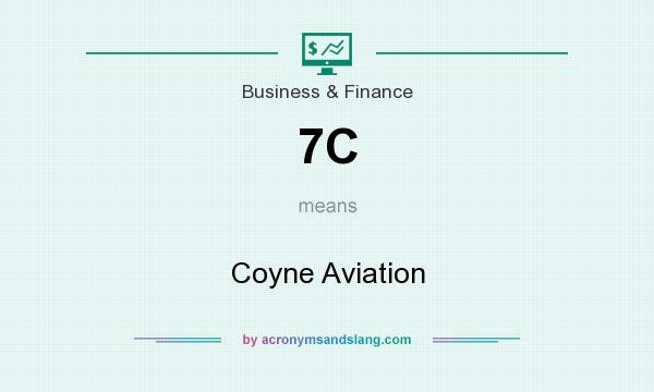 What does 7C mean? It stands for Coyne Aviation