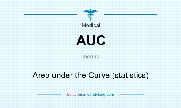 What does AUC mean? It stands for Area under the Curve (statistics)