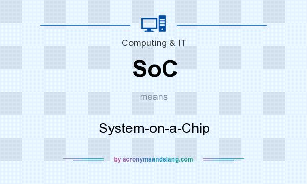 What does SoC mean? It stands for System-on-a-Chip