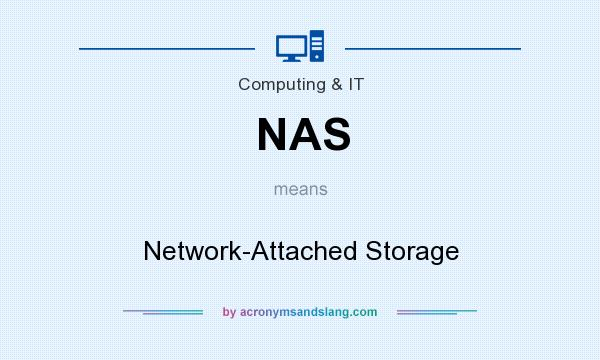 What does NAS mean? It stands for Network-Attached Storage