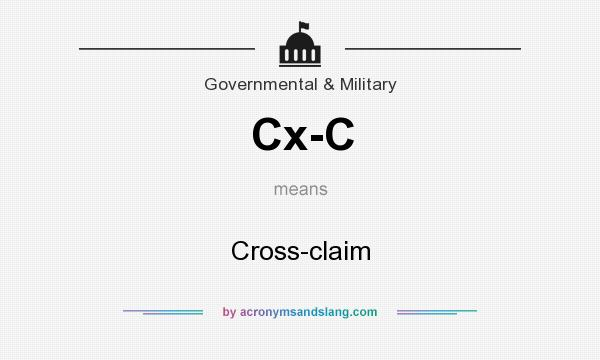 what does cx c mean definition of cx c cx c stands for cross