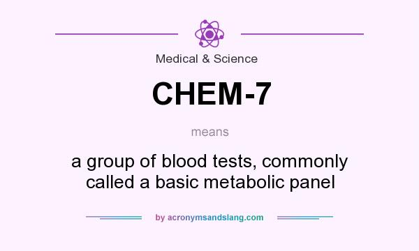 what does chem-7 mean? - definition of chem-7 - chem-7 stands for, Skeleton