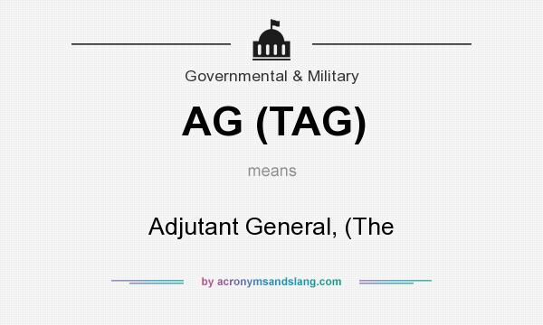 Definition Of AG TAG