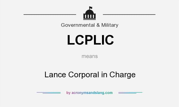 What Does LCPLIC Mean