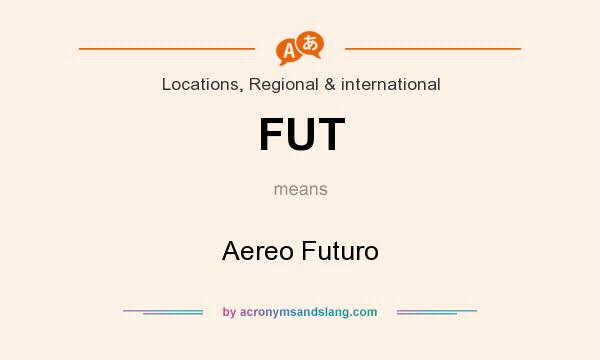 What does FUT mean? It stands for Aereo Futuro