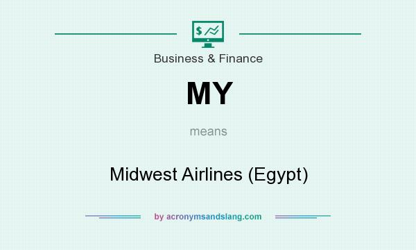 What does MY mean? It stands for Midwest Airlines (Egypt)