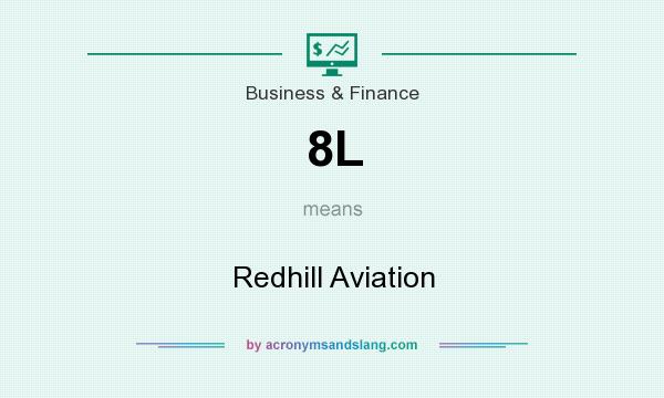 What does 8L mean? It stands for Redhill Aviation
