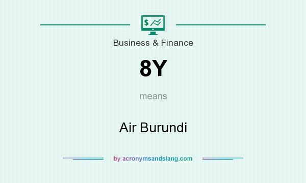 What does 8Y mean? It stands for Air Burundi