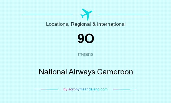 What does 9O mean? It stands for National Airways Cameroon