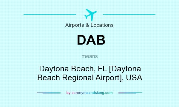 Dab Daytona Beach Fl Daytona Beach Regional Airport Usa In