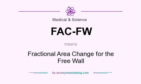 What does FAC-FW mean? It stands for Fractional Area Change for the Free Wall