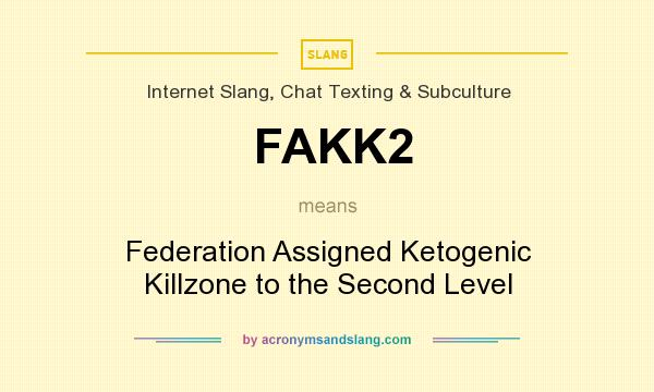 What does FAKK2 mean? It stands for Federation Assigned Ketogenic Killzone to the Second Level