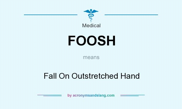 What does FOOSH mean? It stands for Fall On Outstretched Hand