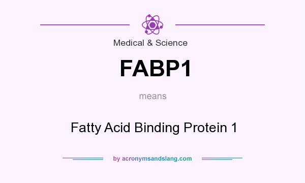 What does FABP1 mean? It stands for Fatty Acid Binding Protein 1