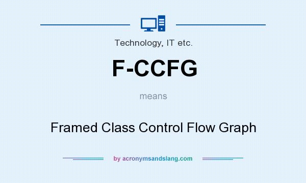 What does F-CCFG mean? It stands for Framed Class Control Flow Graph