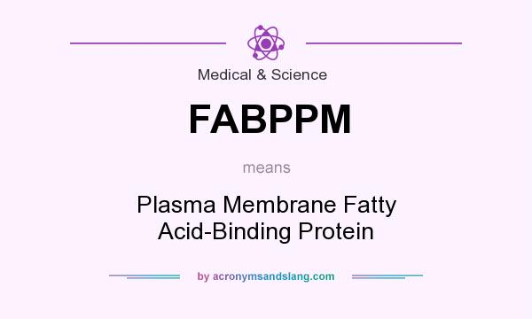 What does FABPPM mean? It stands for Plasma Membrane Fatty Acid-Binding Protein