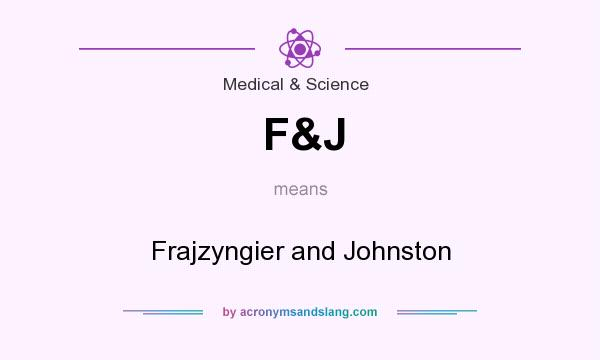 What does F&J mean? It stands for Frajzyngier and Johnston
