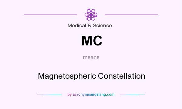 What does MC mean? It stands for Magnetospheric Constellation