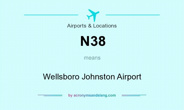 What does N38 mean? It stands for Wellsboro Johnston Airport