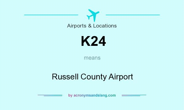 What does K24 mean? It stands for Russell County Airport