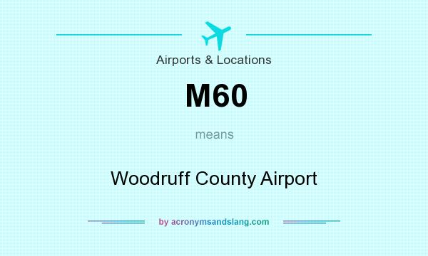 What does M60 mean? It stands for Woodruff County Airport
