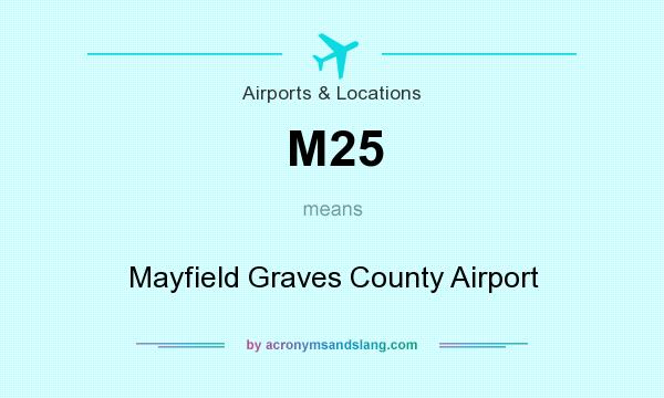 What does M25 mean? It stands for Mayfield Graves County Airport
