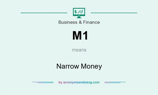 What does M1 mean? It stands for Narrow Money