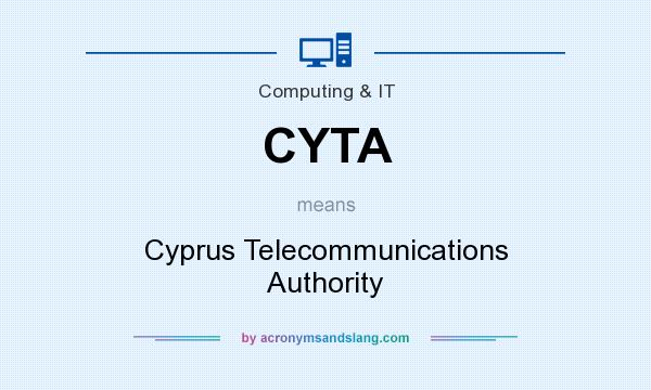 What does CYTA mean? It stands for Cyprus Telecommunications Authority