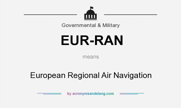 What Does Eur Ran Mean Definition Of