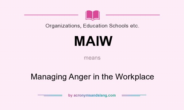 in anger education Teaching healthy anger management distinctions between anger and related concepts there is confusion in both popular and professional literature regarding the definition of anger, which must.