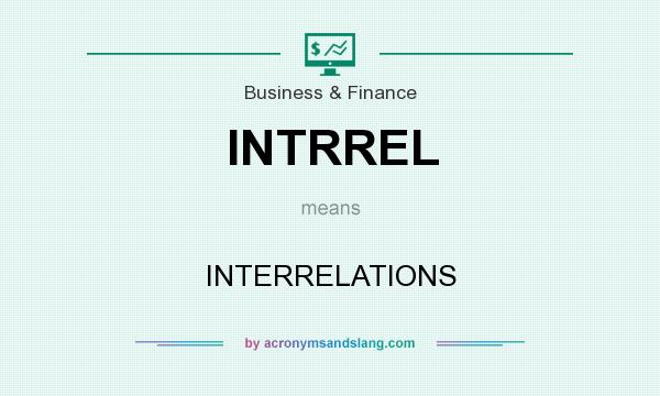 What does INTRREL mean? It stands for INTERRELATIONS