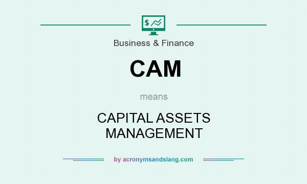 What does CAM mean? It stands for CAPITAL ASSETS MANAGEMENT