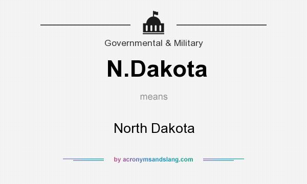 What does N.Dakota mean? It stands for North Dakota