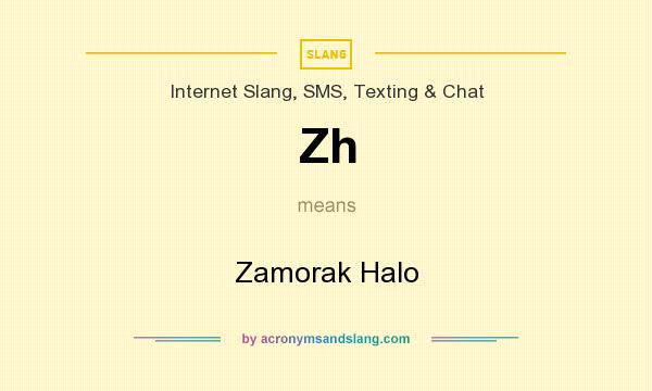 What does Zh mean? It stands for Zamorak Halo