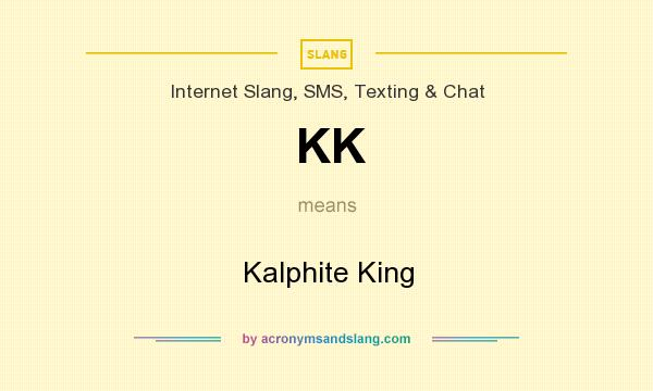 What does KK mean? It stands for Kalphite King